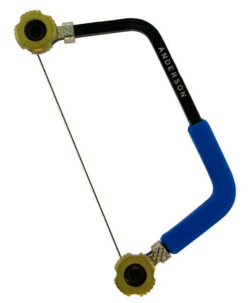 SW1002 = Anderson Mini Sawframe - Blue Handle