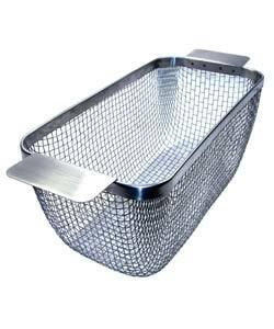 CL1713 = STAINLESS ULTRASONIC BASKET 5'' x 11''