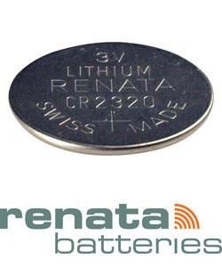 BA2320 = Battery - Renata 3v Lithium - #2320 (Pkg of 10)