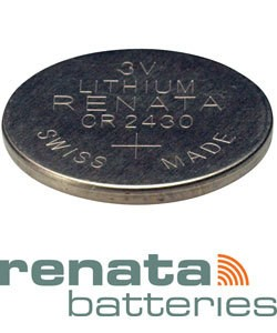 BA2430 = Battery - Renata 3v Lithium - #2430 (Pkg of 10)
