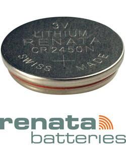 BA2450 = Battery - Renata 3v Lithium - #2450 (Pkg of 10)