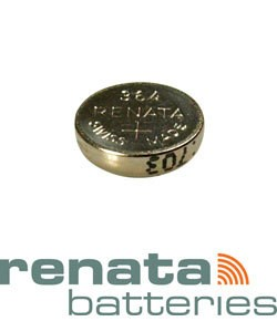 BA364 = Battery - Renata Mercury Free Watch #364 (SR621SW) (Pkg of 10)
