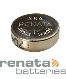 BA384 = Battery - Renata Mercury Free Watch #384 (SR41SW) (Pkg of 10)