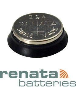 BA387S = Battery - Renata Mercury Free Watch #387S (Pkg of 10)