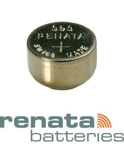 BA393 = Battery - Renata Mercury Free Watch #393 (SR754W) (Pkg of 10)