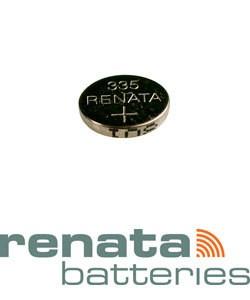BA335 = Battery - Renata Mercury Free Watch #335 (SR512SW) (Pkg of 10)