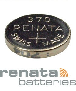 BA370 = Battery - Renata Mercury Free Watch #370 (SR920W) (Pkg of 10)