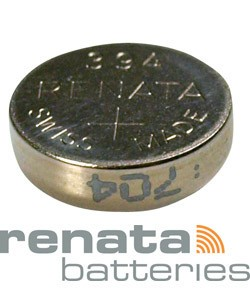 BA394 = Battery - Renata Mercury Free Watch #394 (SR936SW) (Pkg of 10)