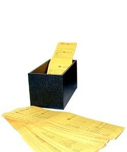 61.149 = Storage Box for Repair Envelopes 7'' x 4'' x 4''