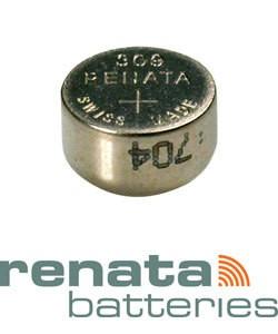 BA309 = Battery - Renata Mercury Free Watch #309 (SR754SW) (Pkg of 10)