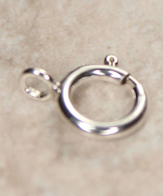 911S-04 = Sterling Silver Spring Ring 6mm Standard (Pkg of 10)