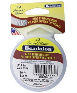 CD41912T = Beadalon 19 Bright .012''  30ft Spool
