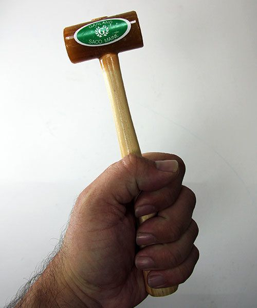 "Garland 37.700 = Rawhide Mallet by Garland  (1"" face / 2oz head)"