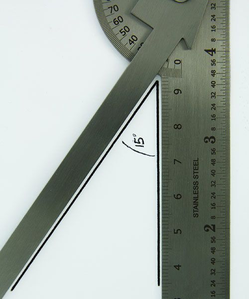 35.131 = Protractor and Gauge