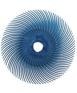 3M ST3014 = 3M Radial Disc 3''dia BLUE 400grit (Pkg of 5)