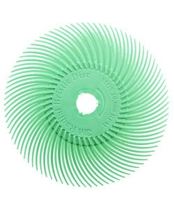 3M ST3017 = 3M Radial Disc 3''dia LIGHT GREEN 1 MICRON grit (Pkg of 5)