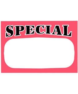 DSI1133 = PRICE CARD MINI ''SPECIAL'' (Pkg of 50)
