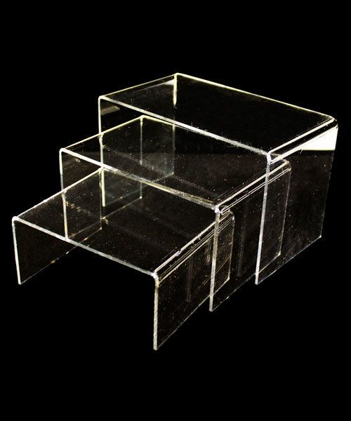 DIS9102 = ACRYLIC RISERS SET OF 3 LARGE