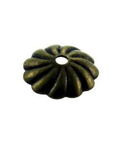 5020AB-71 = Antique Brass Bead Cap 7mm (Pkg of 50)
