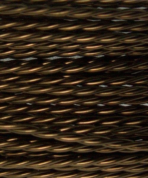 WR42922 = ARTISTIC WIRE DISPENSER PACK TWIST Antique Brass 22ga 4 yards