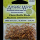 900AWN-08 = Artistic Wire Natural Copper Jump Ring 5.5mm ID (7/32'') 18ga
