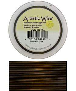 WR32920 = Artistic Wire Retail Spool Antique Brass 20GA 15 YARDS