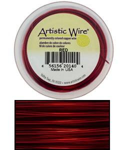 WR32028 = Artistic Wire Spool 28GA 40 YARDS