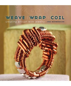 BK5322 = BOOK - WEAVE, WRAP, COIL: CREATING ARTISAN WIRE JEWELRY