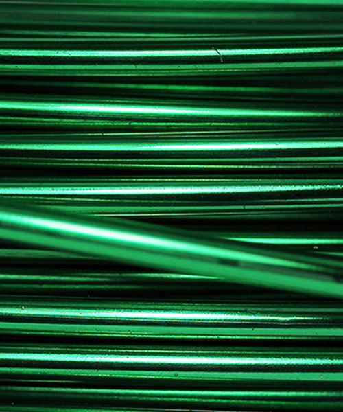WR36318 = ARTISTIC WIRE RETAIL SPOOL SP XMAS GREEN 18ga 20 FEET