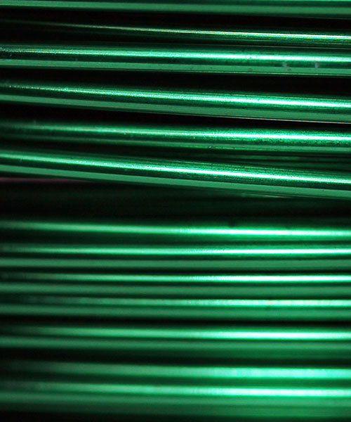 WR36322 = Artistic Wire Spool SP XMAS GREEN 22ga 10 YARDS