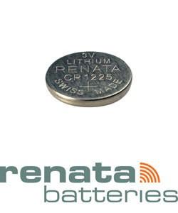 BA1225 = Battery - Renata 3v Lithium - #1225 (Pkg of 10)