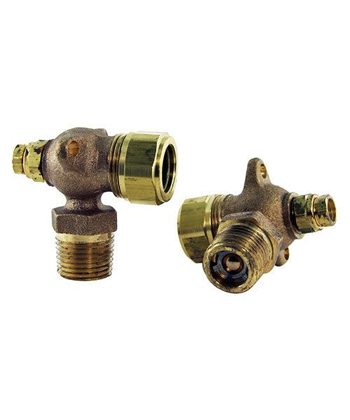 CL303-17 = Brass Fitting for Sight Glass for Hoffman JEL3 Steam Cleaner (WG400)