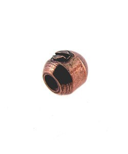 585CP-85 = Beadalon Scrimps 3.5mm Oval Copper Plated (Pkg of 144)