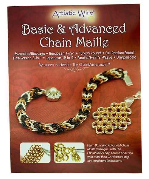 BK5306 = BOOK - BASIC AND ADVANCED CHAIN MAILLE