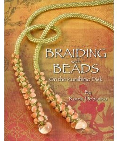BK5362 = BOOK - BRAIDING with BEADS on the KUMIHIMO DISK