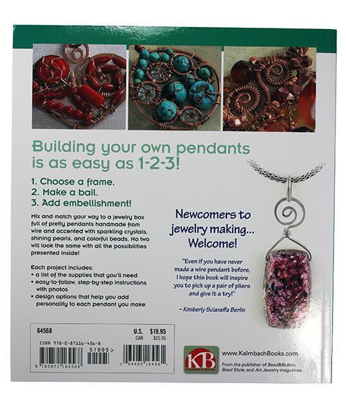 BK5383 = BOOK - BUILD YOUR OWN WIRE PENDANTS