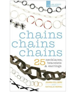 BK5359 = BOOK - CHAINS CHAINS CHAINS: 25 NECKLACES, BRACELETS & EARRINGS