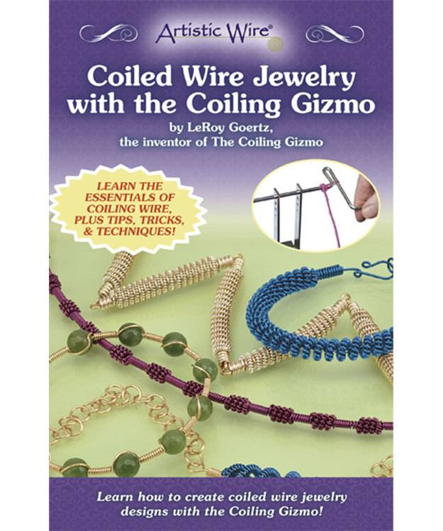 BK5397 = Book - Coiled Wire Jewelry With The Coiling Gizmo by LeRoy Goertz