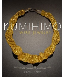 BK5358 = BOOK - KUMIHIMO WIRE JEWELRY