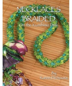 BK5294 = BOOK - NECKLACES BRAIDED ON THE KUMIHIMO DISK