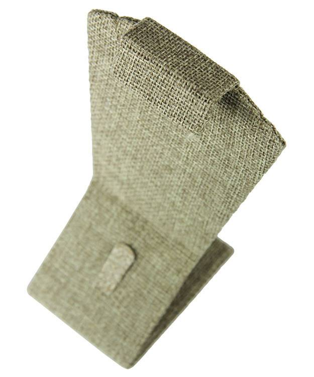 DCO3705 = Burlap Combination Display 3-3/8''W x 5-1/2''H