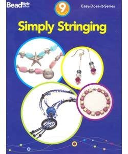 BK5208 = BOOK - SIMPLY STRINGING: 9 PROJECTS