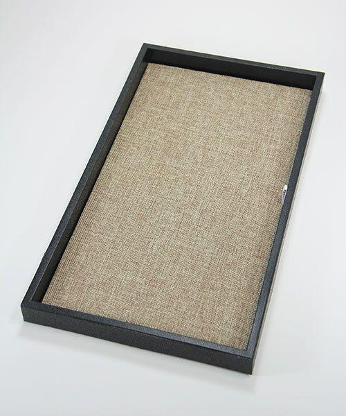 DIS3900 = Burlap Display Pad 14''  x 7-5/8''