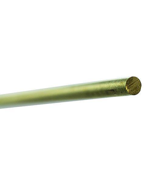 BRW11 = BRASS ROUND ROD 12'' 3/32'' diameter