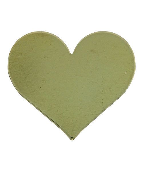 MSBR70424 = Brass Shape - Heart 17 x 19.5mm (Pkg of 6)