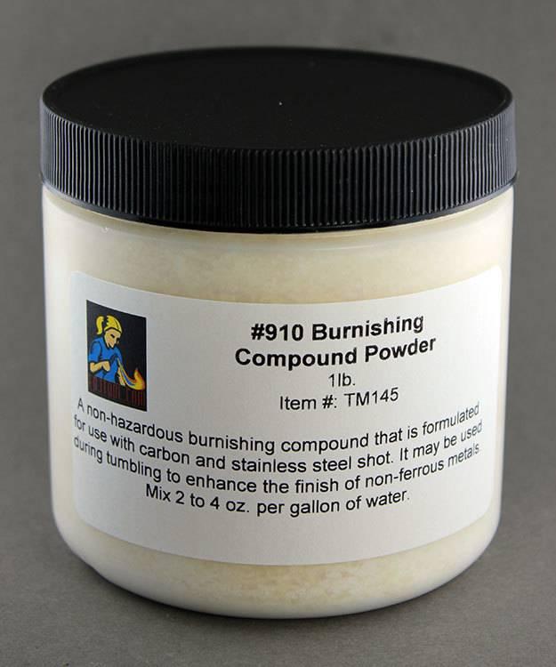 TM145 = Burnishing Compound Powder #910 - 1lb. Container