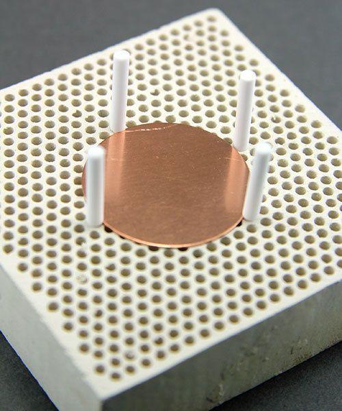 SO4451 = Ceramic Pins for Mini Honeycomb Soldering Board (Pkg of 20)