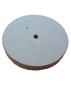 EVE Abrasives 10.01368 = EVE Silicon Abrasives COARSE/WHITE SQUARE EDGE WHEEL 7/8'' (x10)