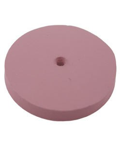 EVE Abrasives 10.01381 = EVE Silicon Abrasives EXTRA FINE/PINK SQUARE EDGE WHEEL 7/8'' (x10)