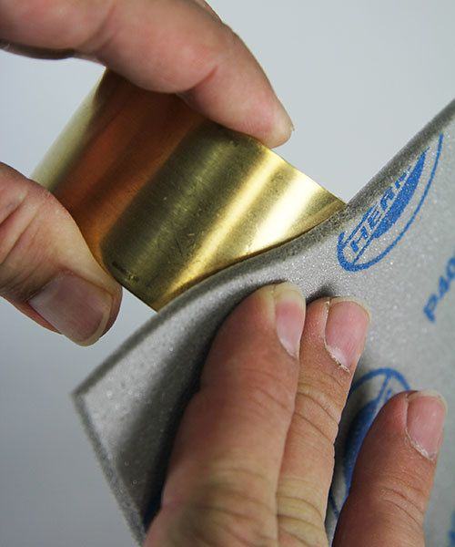 EM6000 = Sanding Sponges, Foam Rubber/Aluminum Oxide (5 Grits)